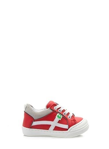 Benetton Bn1016 Çocuk Spor Ayakkabı Kırmızı